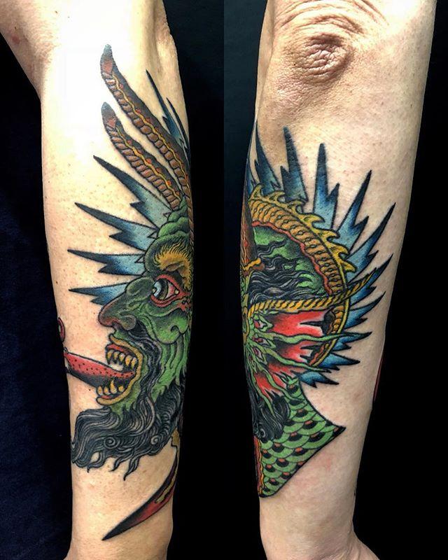 #demon #悪魔 #途中経過 ...#tattoo #reikotattoo #studiokeen #japan #nagoyatattoo #tokyotattoo #irezumi #タトゥー #刺青 #名古屋 #大須 #矢場町 #東京