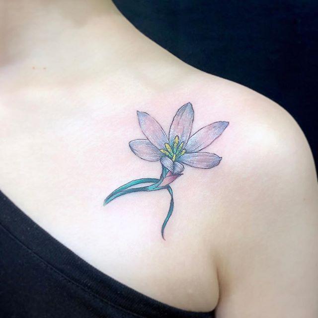 #玉すだれ #Zephyranthes...#tattoo #reikotattoo #studiokeen #japan #nagoyatattoo #tokyotattoo #irezumi #タトゥー #刺青 #名古屋 #大須 #矢場町 #東京