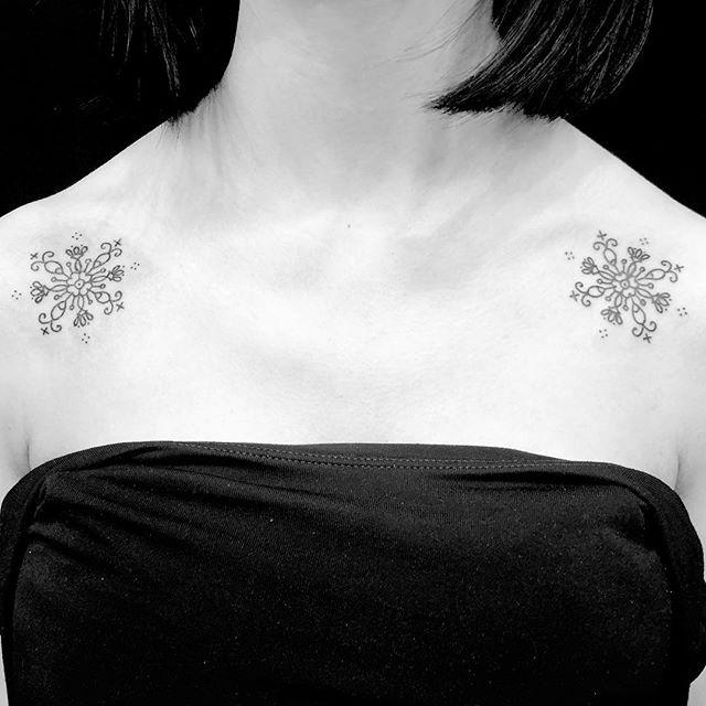 #お花の模様タトゥー #floralpattern #symmetrictattoo ...#tattoo #reikotattoo #studiokeen #japan #nagoyatattoo #tokyotattoo #irezumi #タトゥー #刺青 #名古屋 #大須 #矢場町 #東京