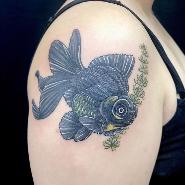 #カバーアップタトゥー #coveruptattoo #金魚 #goldfish ...#tattoo #reikotattoo #studiokeen #japan #nagoyatattoo #tokyotattoo #irezumi #タトゥー #刺青 #名古屋 #大須 #矢場町 #東京