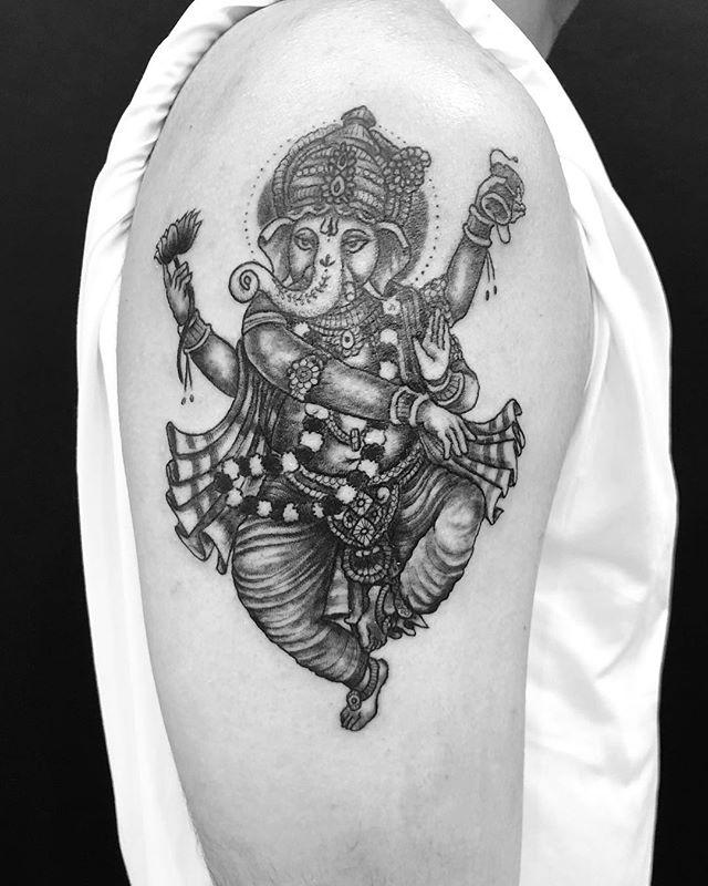 #ganesha #ガネーシャ...#tattoo #reikotattoo #studiokeen #japan #nagoyatattoo #tokyotattoo #irezumi #タトゥー #刺青 #名古屋 #大須 #矢場町 #東京